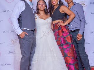 Red Carpet Wedding Photobooth:  Congratulations Mr & Mrs Owens