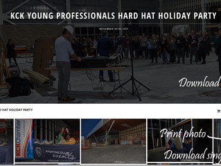 KCK Forward Young Professionals Hosted a HardHat Holiday Party at the National Training & Coachi