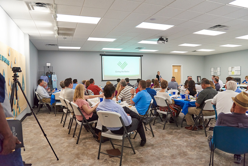 Fairfax Industrial Association Luncheon held at Giving the Basics