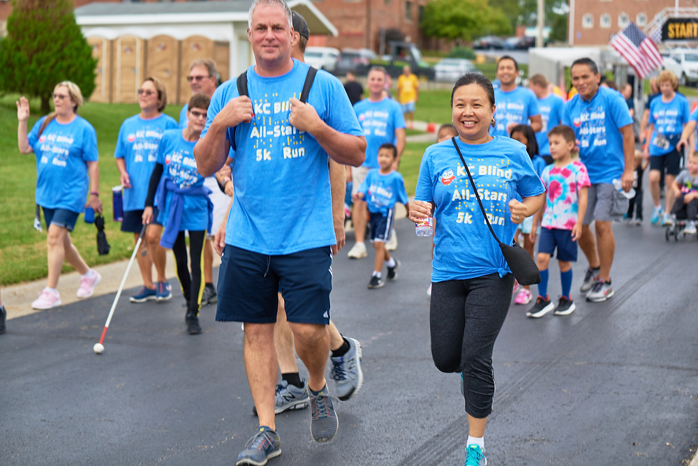 First KC Blind All-Stars Foundation 5K and 1 Mile Walk