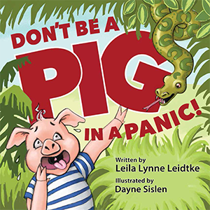 Cover for children's book by Dayne Sislen illustrator