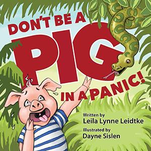Cover for children's book by Dayne Sislen illustrator