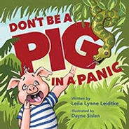 Picture book cover of pigs