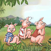 Three little pigs in school illustrated by Dayne Sislen Illustrator