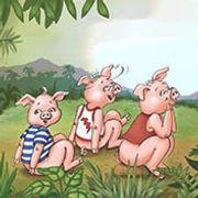 Three little pigs in school illustrated by Dayne Sislen Illustrator