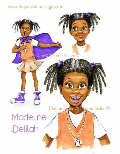 character studies for African American girl