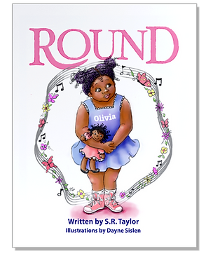 Picture book called Round illustrated by Dayne Sislen