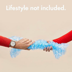MOVADO watch ad