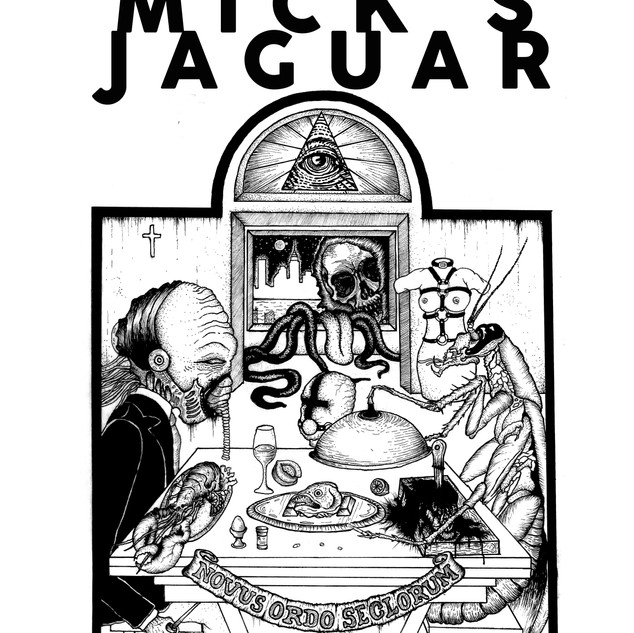Mick's Jaguar - Fame and Fortune T-Shirt