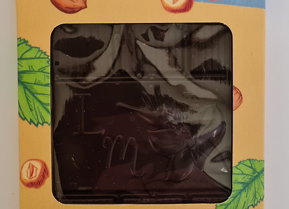 Tablette 70% de cacao noisettes caramélisées