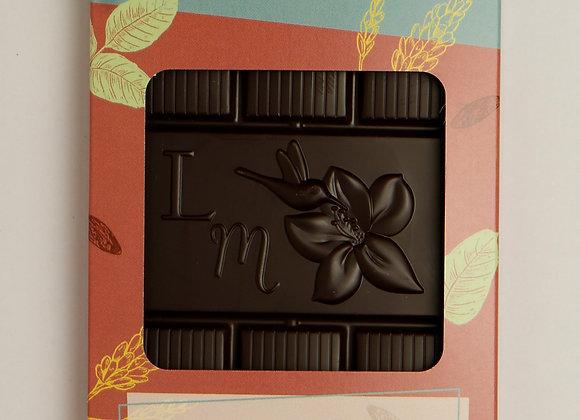 Tablette 72% de cacao fêve de Tonka