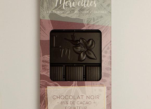 Tablette 85% de cacao Origine Equateur