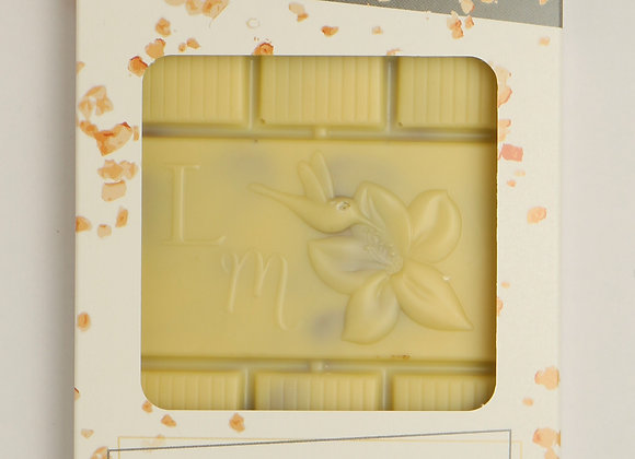 Tablette chocolat blanc praliné à l'ancienne