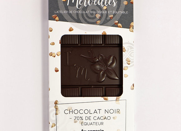 Tablette chocolat noir 70% sarrasin