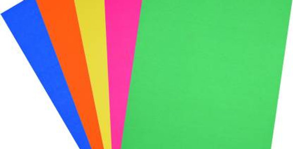 Color Papers(A4 ,size set of 5)