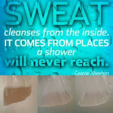 Sweat from Detox Slim Wrap
