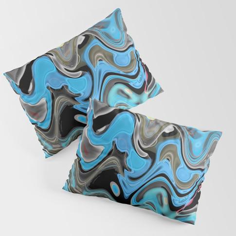 Waves - Pillow sham