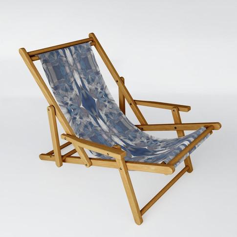 Sweet in blue - Sling Chair