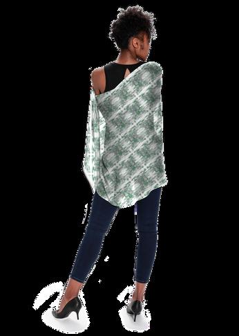 Clover in Green - Modal Scarf