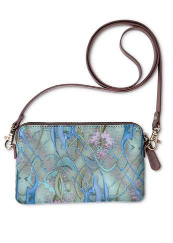 Color Spill in turquoise - Statement Clutch