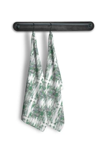 Clover in green - Tea Towel Set of 2