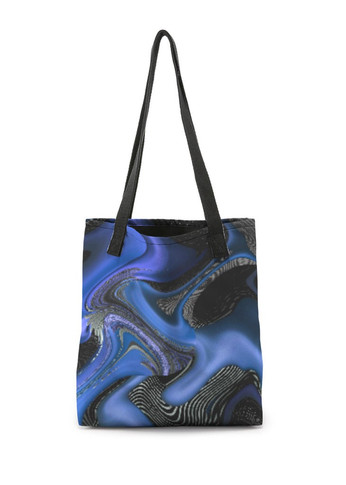 Shadovs in blue - Tote Bag