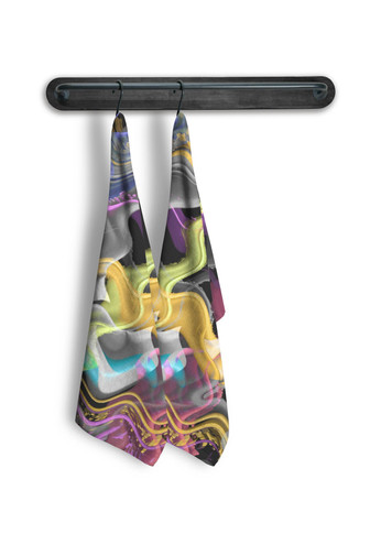 Wavy - Tea Towel Set of 2