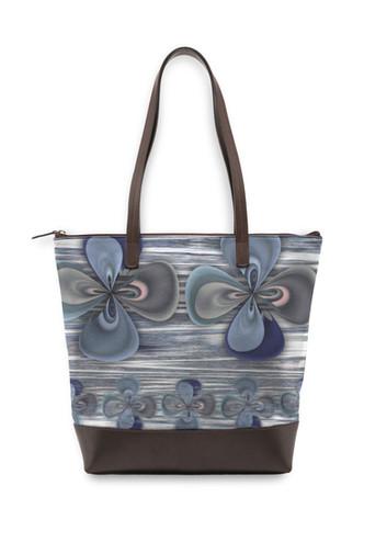 Clover in blue - Statement Bag