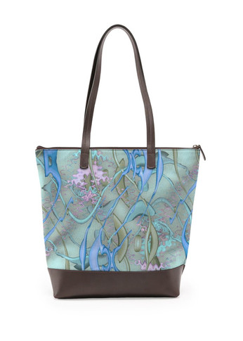 Color Spill in turquoise - Statement Bag