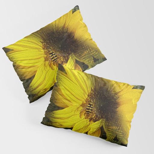 Sunflower - Pillow sham