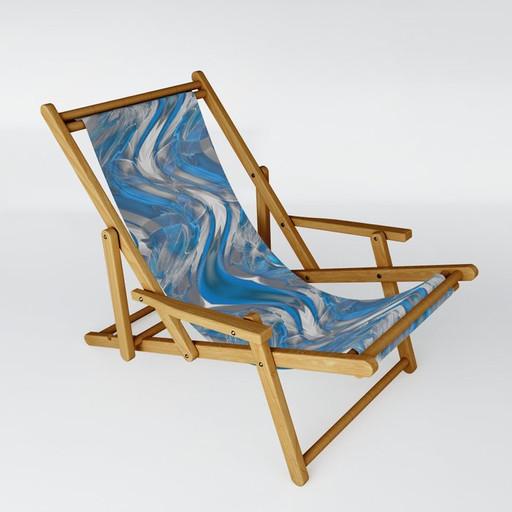 Dreams in blue - Sling Chair
