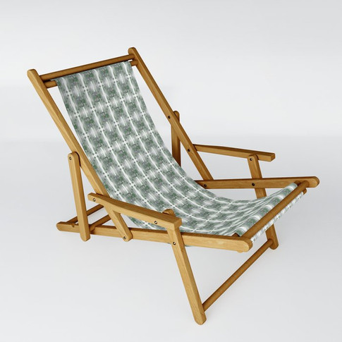 Clover in green - Sling Chair