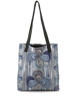 Clover in blue - Tote Bag