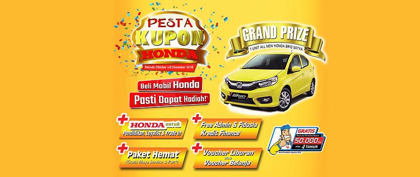 Pesta Kupon Honda Wiltop Jambi