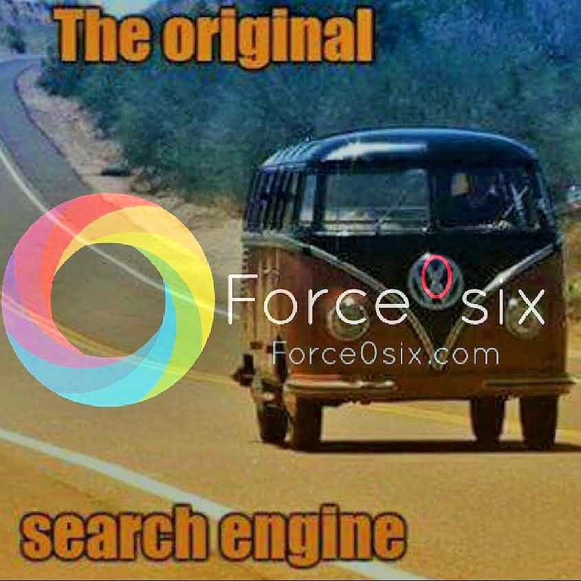 The VW hippy van is the search engine of the past.  SEO and SEM is the future