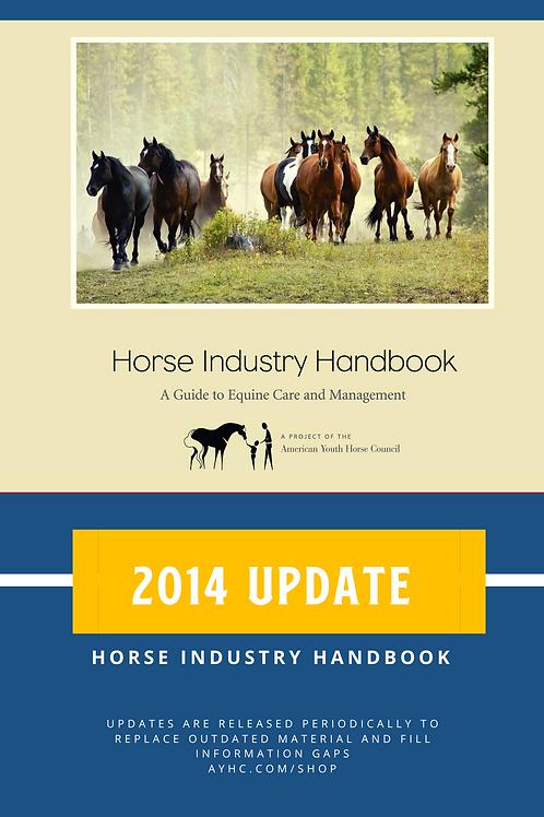 2014 update pack for Horse Industry Handbook