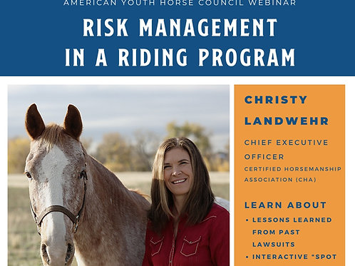 Risk Management in a Riding Program
