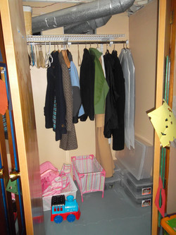 Toy Closet BEFORE