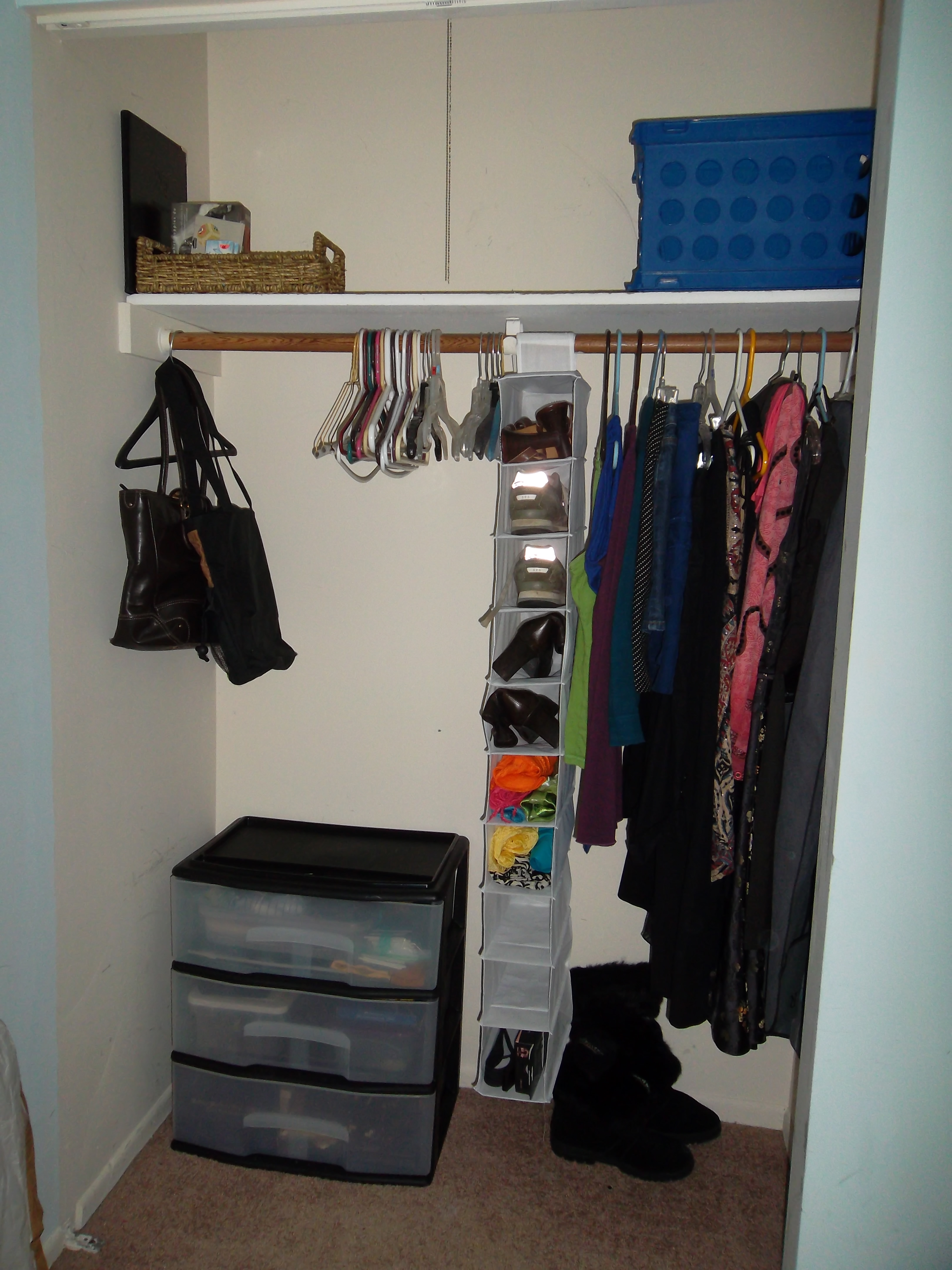 Bedroom Closet AFTER
