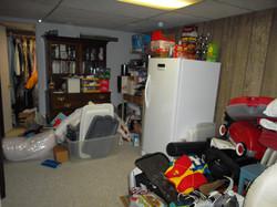 Basement Storage BEFORE (2 of 2)