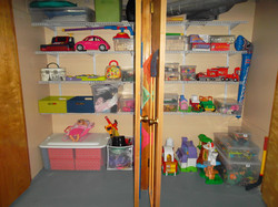 Toy Closet AFTER