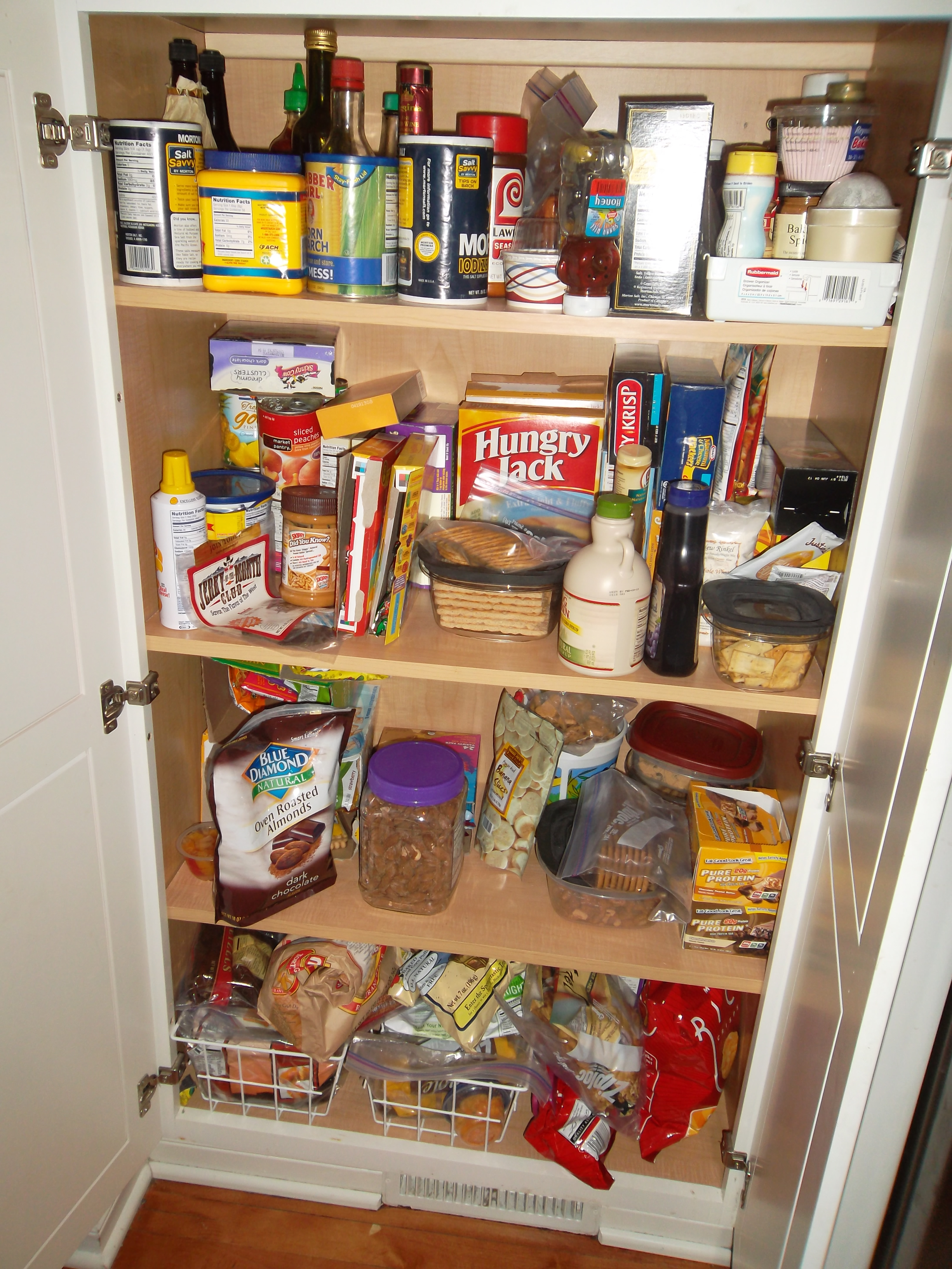 Close Up Pantry BEFORE