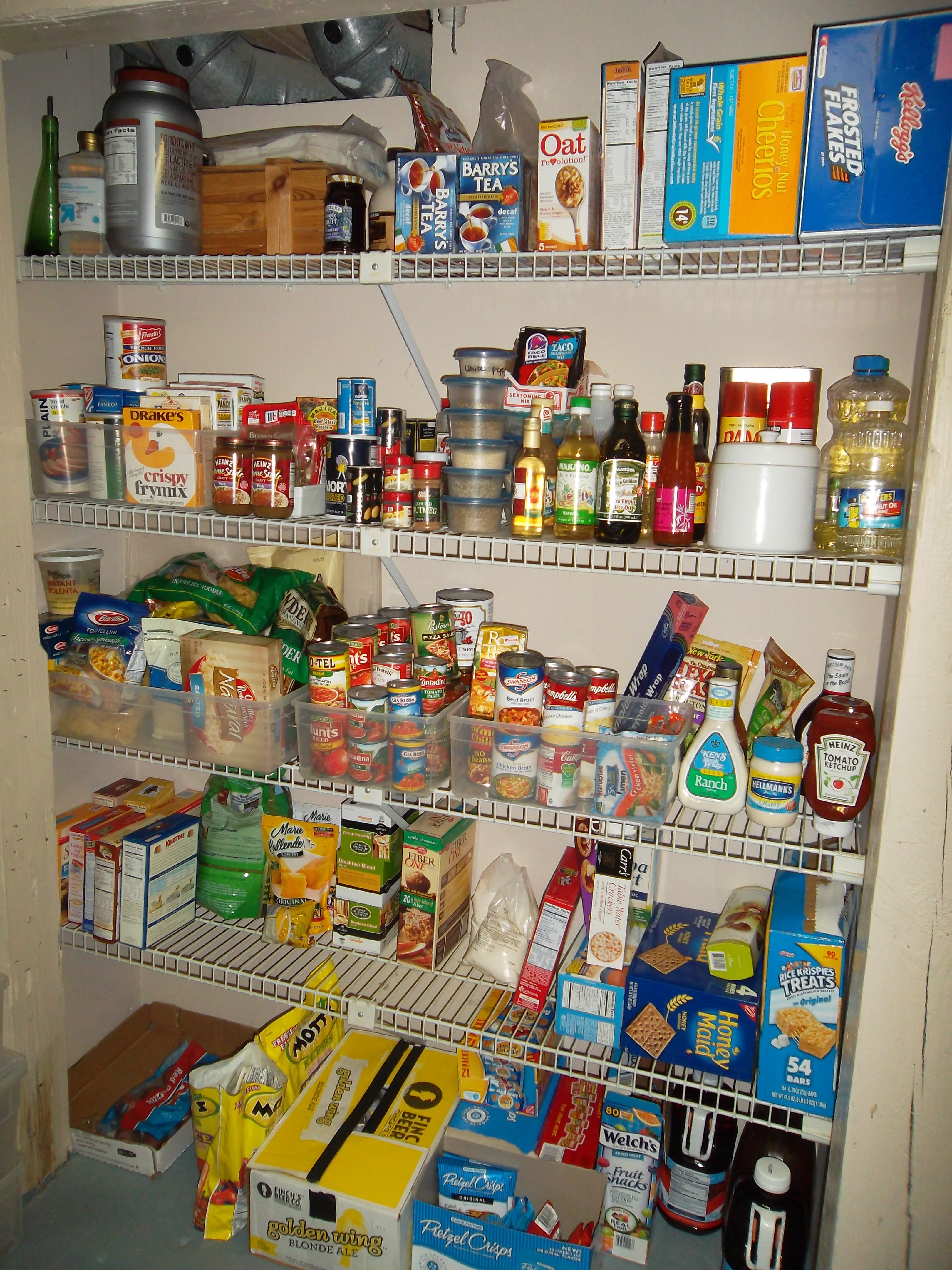Overflow Pantry AFTER