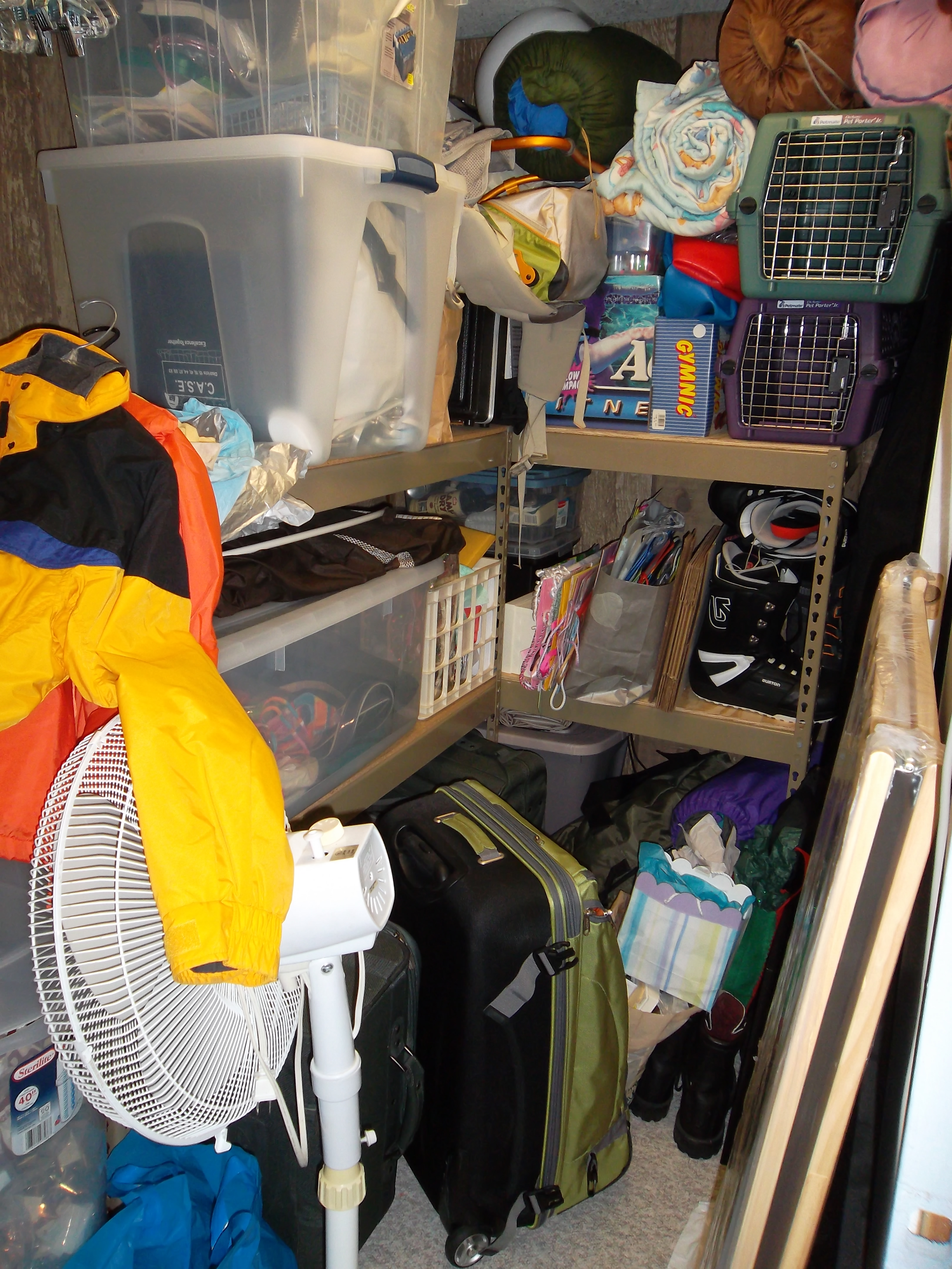 Storage Closet BEFORE