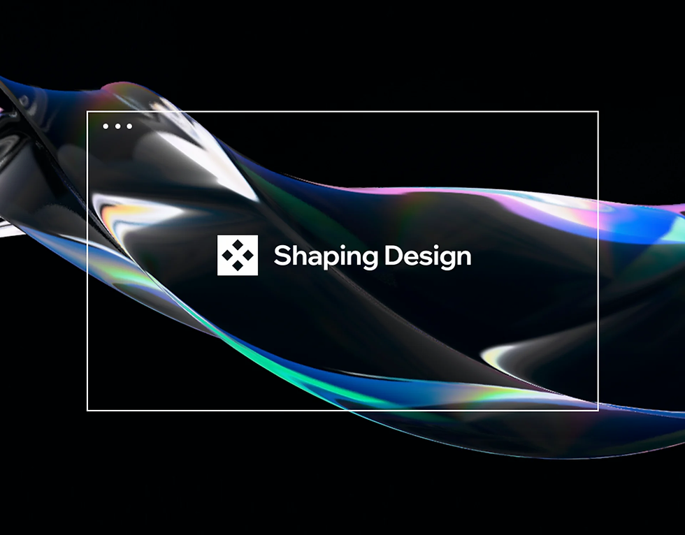 Shaping Design publication by Editor X.