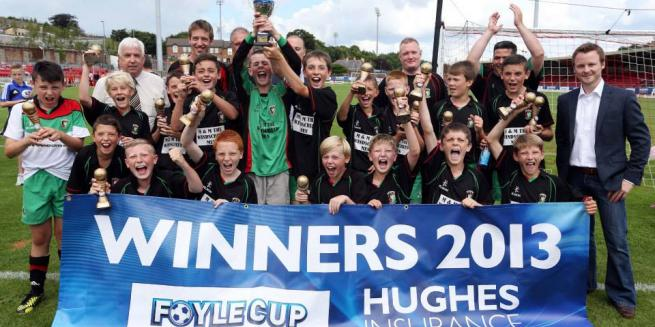 U13s - Foyle Cup Champs