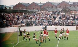 Glentoran v Man United