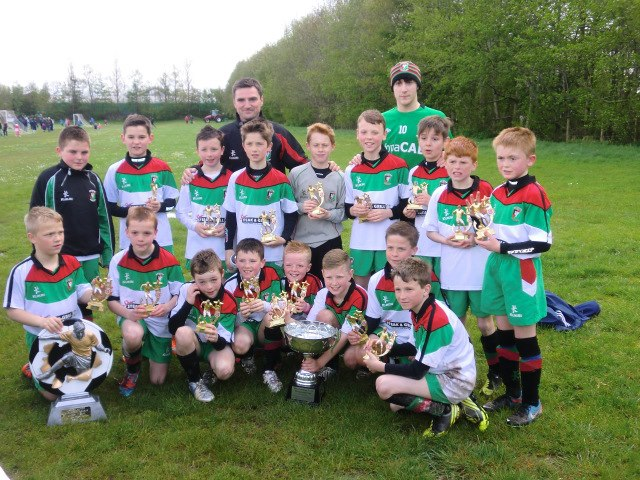 Under 12s Lisburn League Cup Winners