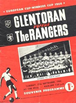 Glentoran 1 v 1 Glasgow Rangers