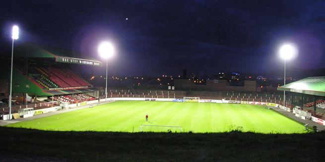 Under the Floodlights